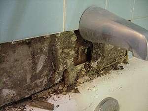 Repairing Water Damaged Tile Surrounds